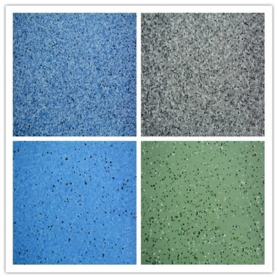 China Multi - Color Flexible Vinyl Flooring , 2*20m Homogeneous PVC Flooring factory
