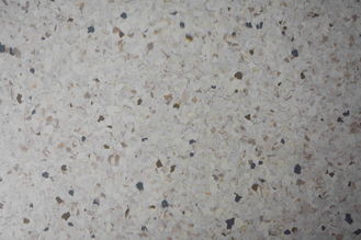 China 3mm Grey Color Homogeneous PVC Flooring Bacteria Resistance Long Service Life factory