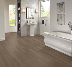 China 6mm Luxury Waterproof Click Vinyl Flooring High Temperature Resistance factory