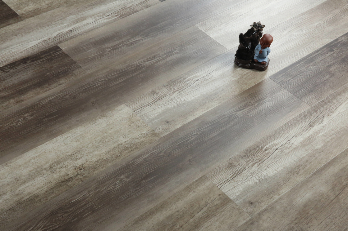 3mm Thickness Dry Back Vinyl Flooring With Embossed Surface Commercial Use